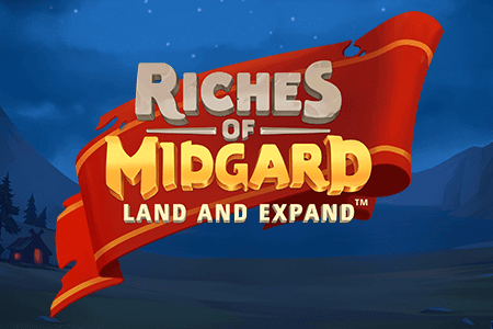 NetEnt: Riches of Midgard: Land and Expand