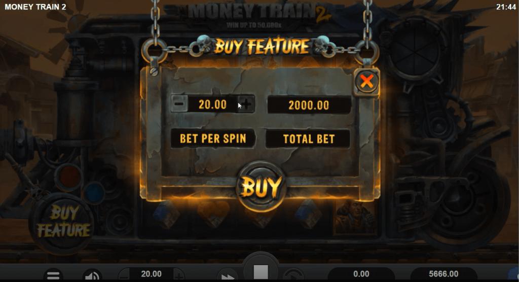 Money Train 2 Bonus