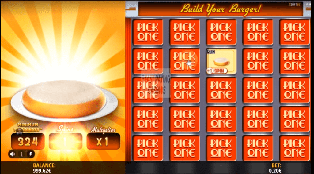 Royale With Cheese Bonuspeli