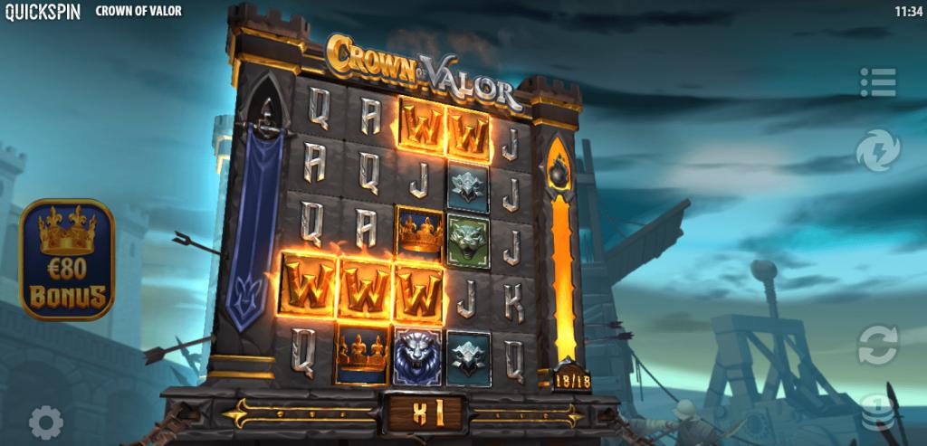 Crown of Valor Bonuspeli
