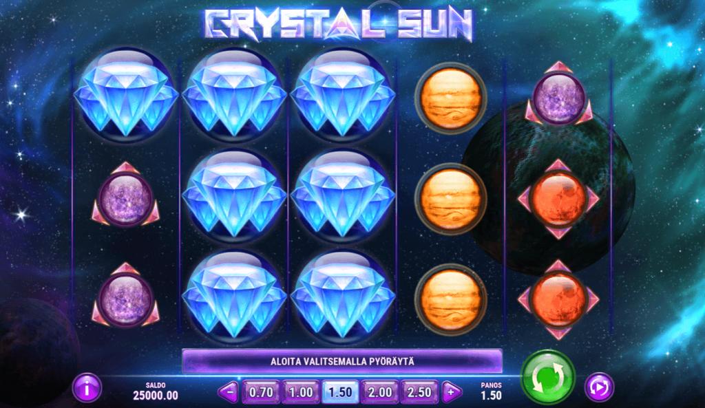 Crystal Sun On Vastine Suositulle Starburst Pelille