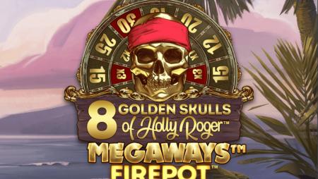 Buck Stakes Entertainment:  8 Golden Skulls of Holly Roger Megaways