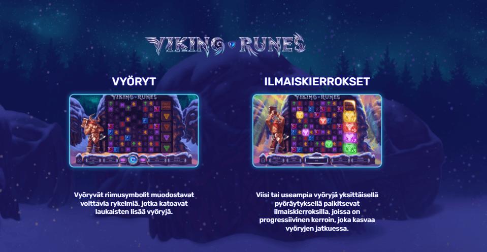 Viking Runes Ilmaiskierrokset