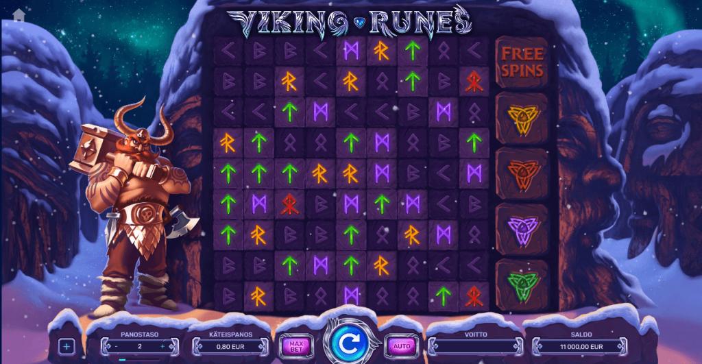 Viking Runes Slotti On Hyvännäköinen