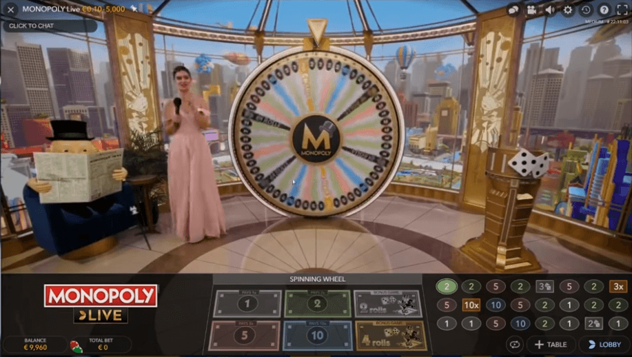 Monopoly Live On Suosittu Peli