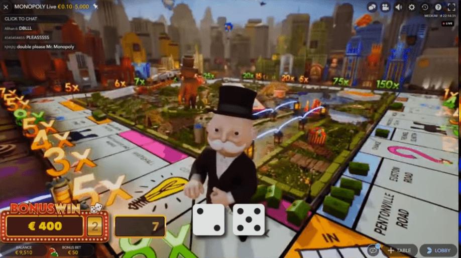 Monopoly Live Bonuspeli