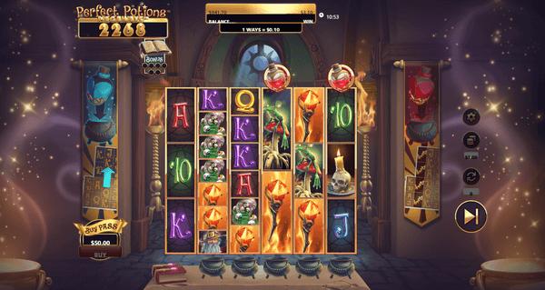 Perfect Potions Megaways Tulee Scientific Gamesilta