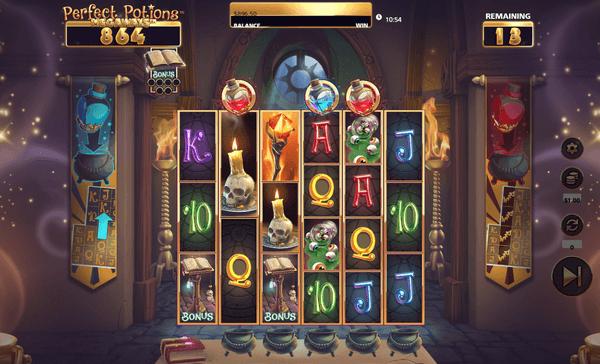 Perfect Potions Megaways Bonuspeli