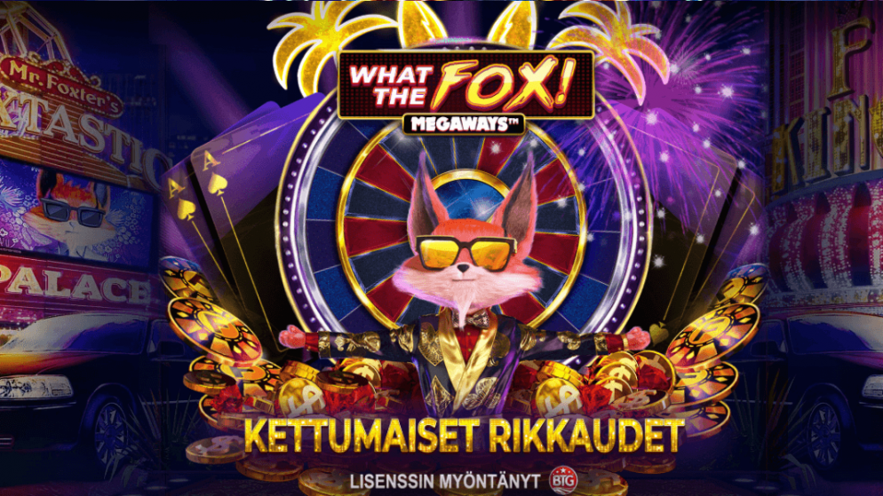 Red Tiger Gaming: What the Fox Megaways