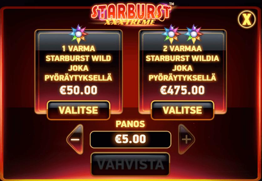 Starburst Xxxtreme Slotti Netentiltä