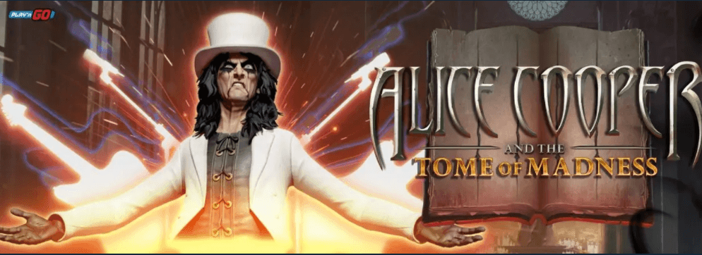 Play ´n GO: Alice Cooper and the Tome of Madness